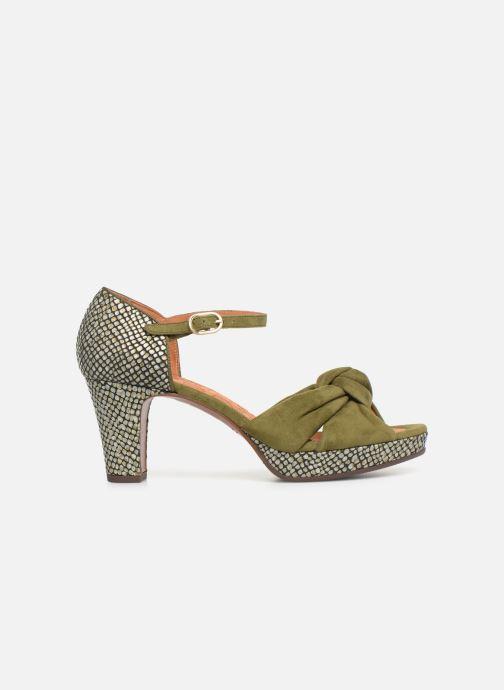 Sandals Chie Mihara Naira Green back view