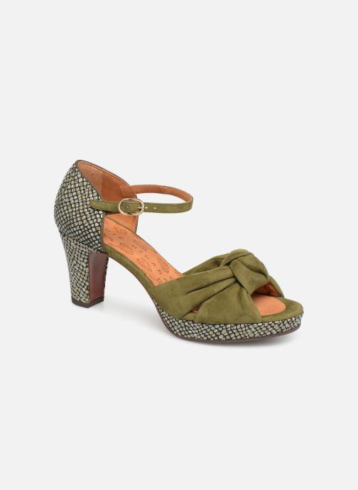 Sandaler Chie Mihara Naira Grøn detaljeret billede af skoene