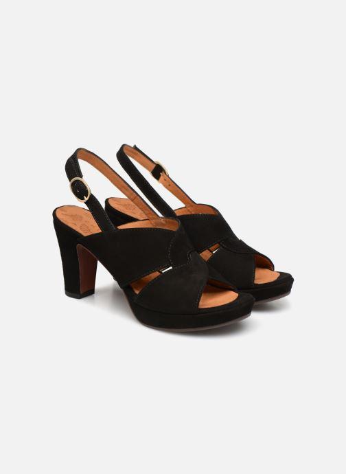 Zapatos de tacón Chie Mihara Eskol Negro vista 3/4