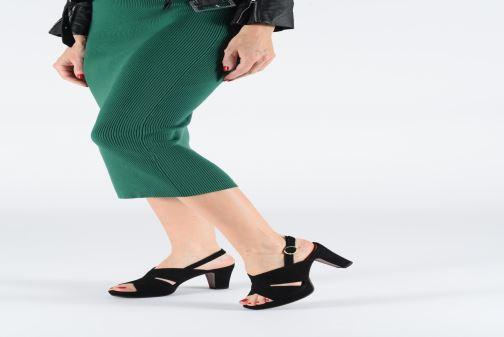 Zapatos de tacón Chie Mihara Eskol Negro vista de abajo