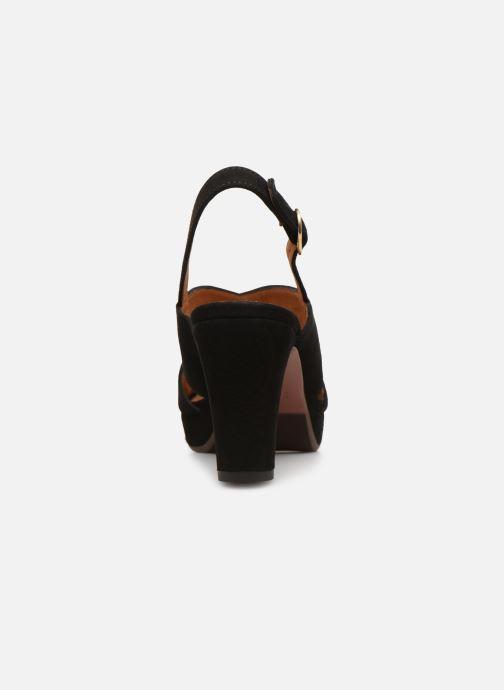 Zapatos de tacón Chie Mihara Eskol Negro vista lateral derecha