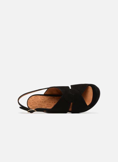Zapatos de tacón Chie Mihara Eskol Negro vista lateral izquierda