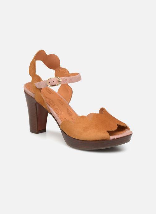 Sandales et nu-pieds Chie Mihara E-Evolet Marron vue détail/paire