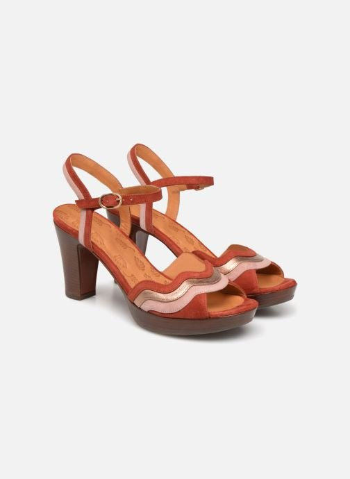 Sandals Chie Mihara Enea Red 3/4 view