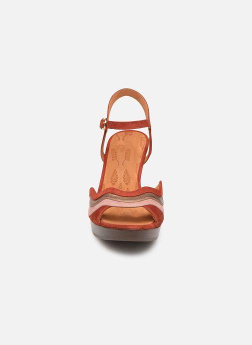 Sandales et nu-pieds Chie Mihara Enea Rouge vue portées chaussures