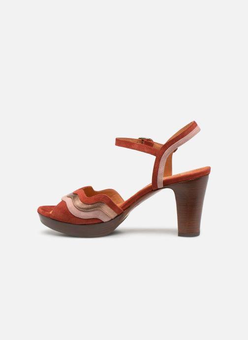 Sandales et nu-pieds Chie Mihara Enea Rouge vue face