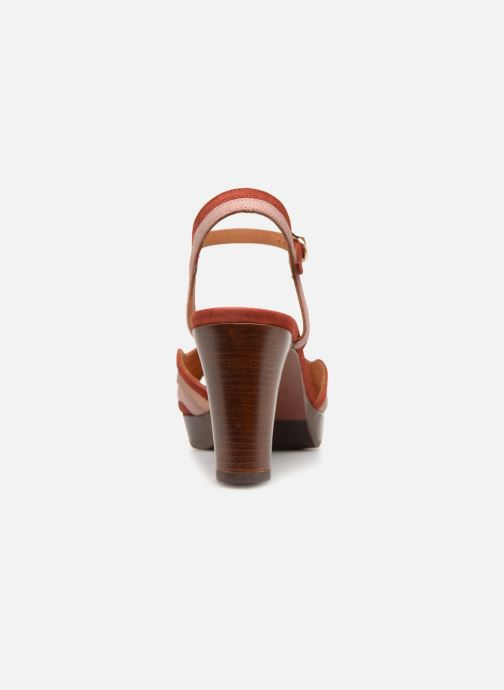 Sandals Chie Mihara Enea Red view from the right