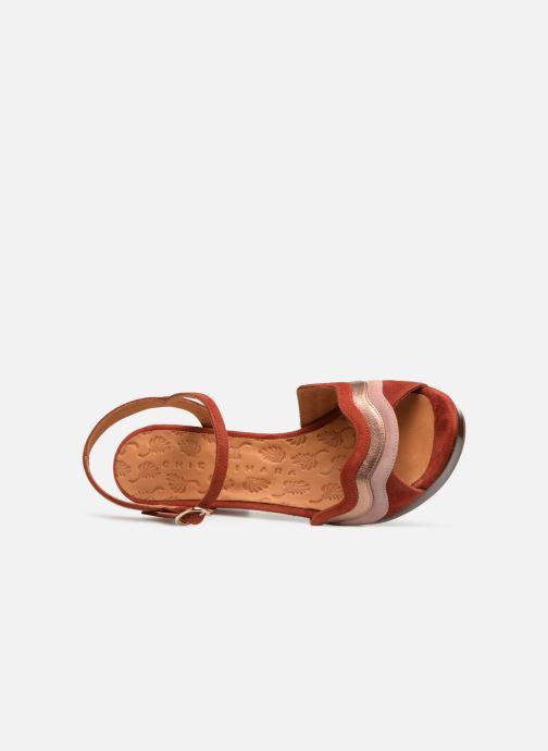 Sandales et nu-pieds Chie Mihara Enea Rouge vue gauche