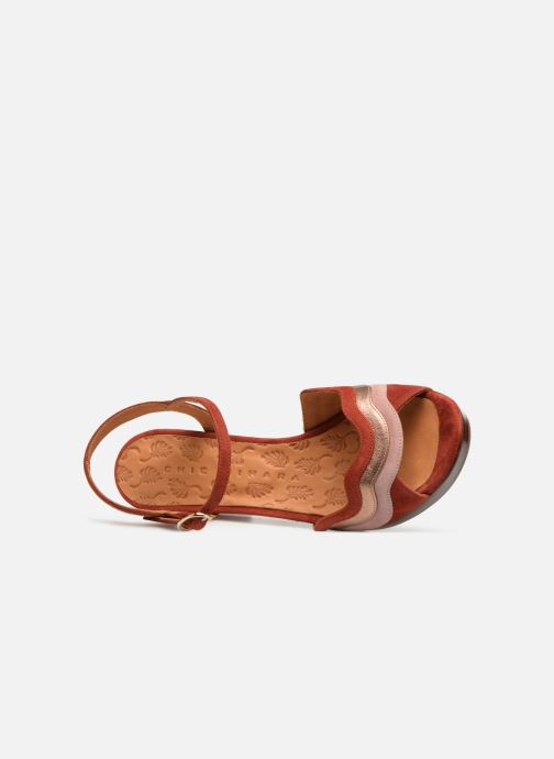 Sandals Chie Mihara Enea Red view from the left