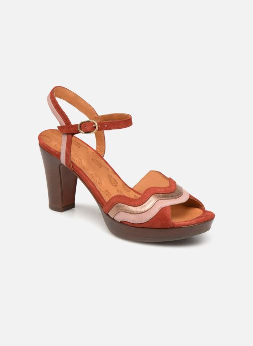 Sandals Chie Mihara Enea Red detailed view/ Pair view