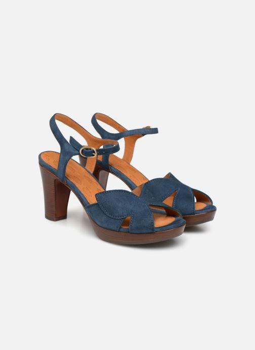 Sandalias Chie Mihara E-Ebisa Azul vista 3/4