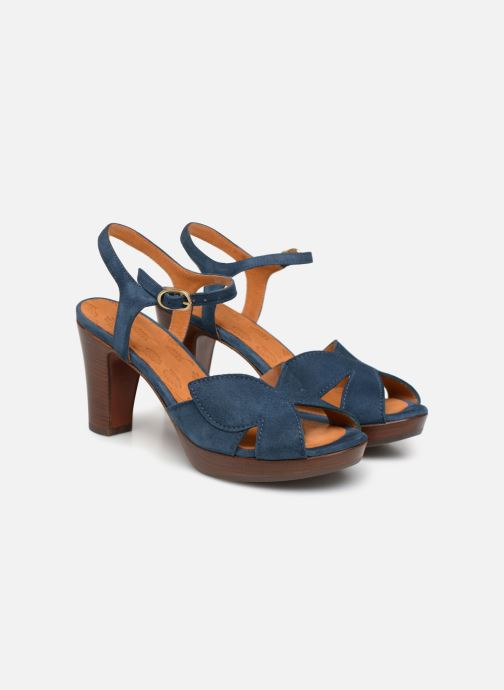 Sandales et nu-pieds Chie Mihara E-Ebisa Bleu vue 3/4