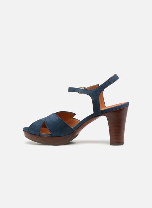 Sandales et nu-pieds Chie Mihara E-Ebisa Bleu vue face