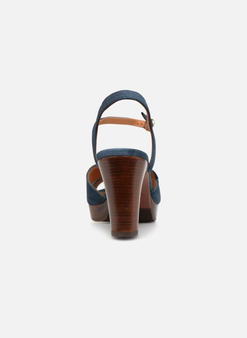 Sandales et nu-pieds Chie Mihara E-Ebisa Bleu vue droite