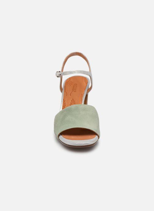 Sandales et nu-pieds Chie Mihara Ba-Parigi Bleu vue portées chaussures