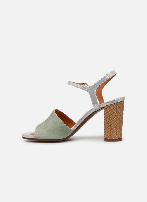 Sandales et nu-pieds Chie Mihara Ba-Parigi Bleu vue face