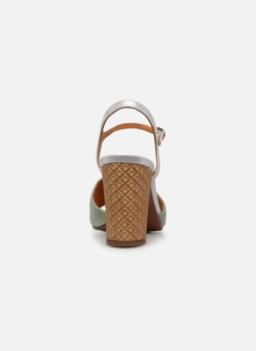 Sandals Chie Mihara Ba-Parigi Blue view from the right