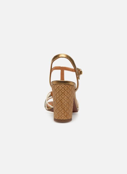 Sandales et nu-pieds Chie Mihara Bandida Or et bronze vue droite