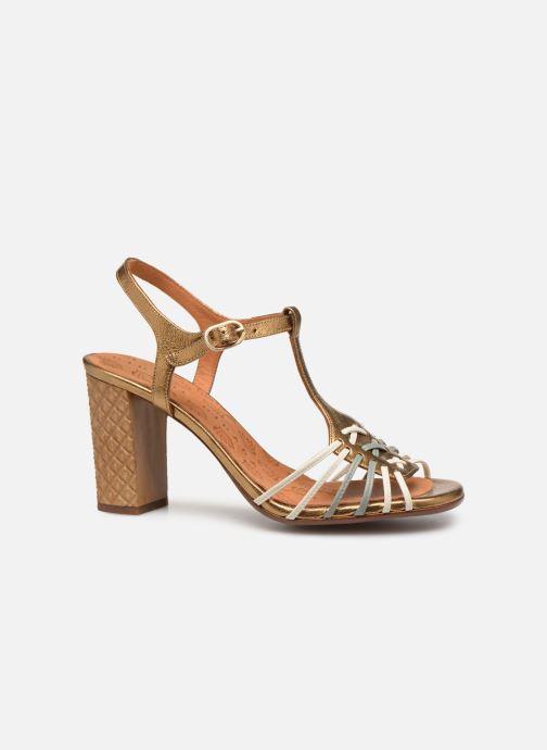 Sandales et nu-pieds Chie Mihara Bandida Or et bronze vue derrière