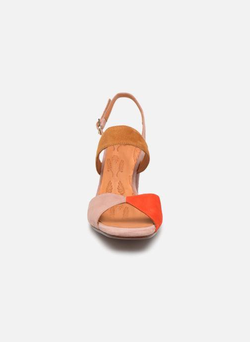 Sandales et nu-pieds Chie Mihara Luzula Rose vue portées chaussures