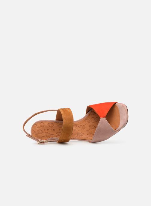 Sandali e scarpe aperte Chie Mihara Luzula Rosa immagine sinistra
