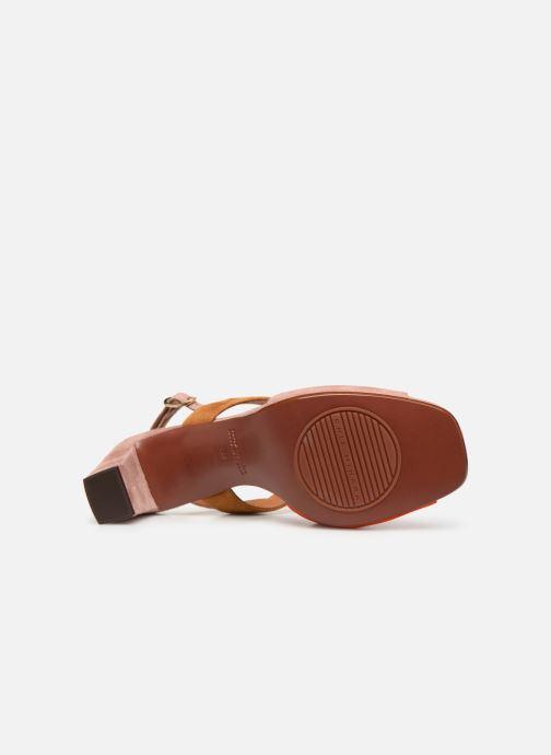 Sandali e scarpe aperte Chie Mihara Luzula Rosa immagine dall'alto
