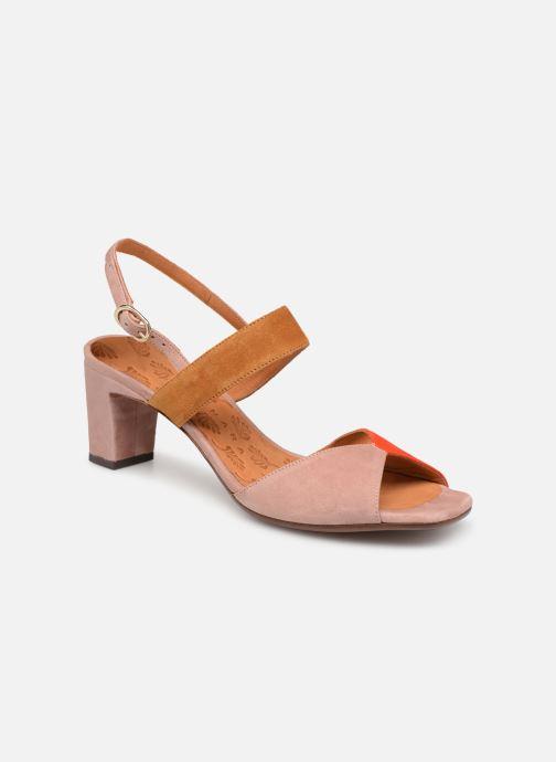 Sandales et nu-pieds Chie Mihara Luzula Rose vue détail/paire