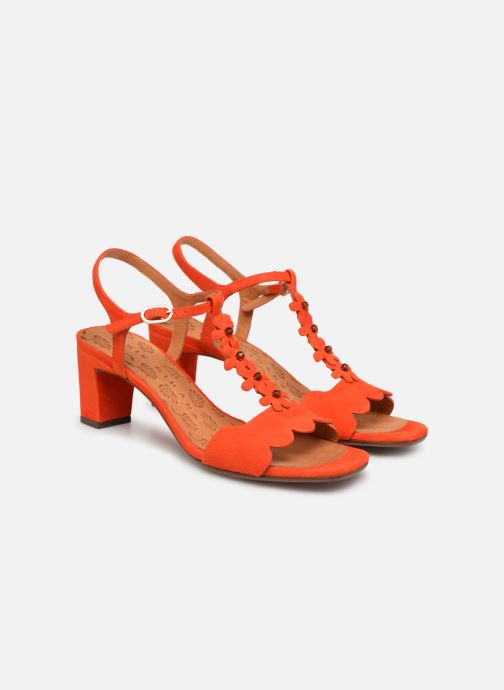 Sandales et nu-pieds Chie Mihara Lonza Orange vue 3/4