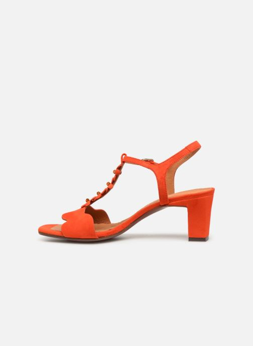 Sandales et nu-pieds Chie Mihara Lonza Orange vue face