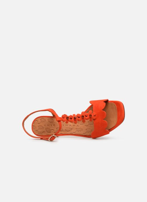 Sandales et nu-pieds Chie Mihara Lonza Orange vue gauche
