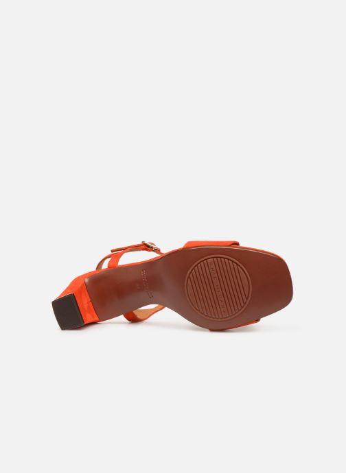Sandales et nu-pieds Chie Mihara Lonza Orange vue haut