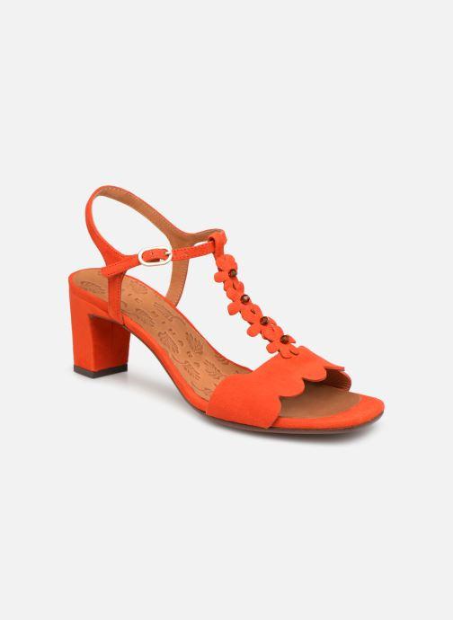 Sandales et nu-pieds Chie Mihara Lonza Orange vue détail/paire
