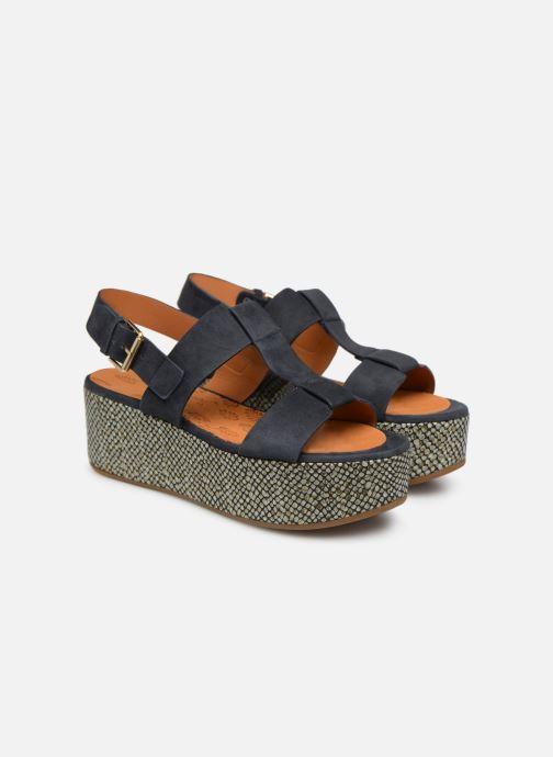 Sandales et nu-pieds Chie Mihara Olivia Bleu vue 3/4