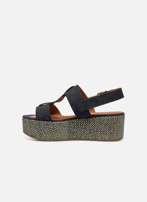 Sandales et nu-pieds Chie Mihara Olivia Bleu vue face