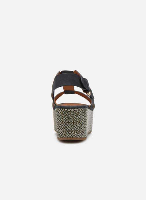 Sandales et nu-pieds Chie Mihara Olivia Bleu vue droite