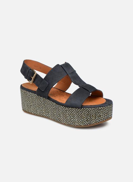 Sandales et nu-pieds Chie Mihara Olivia Bleu vue détail/paire