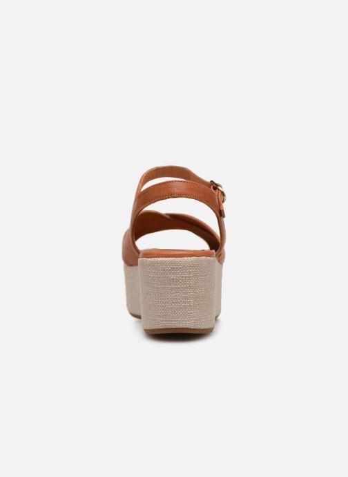 Sandales et nu-pieds Chie Mihara Omero Marron vue droite
