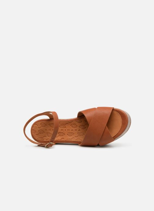 Sandales et nu-pieds Chie Mihara Omero Marron vue gauche