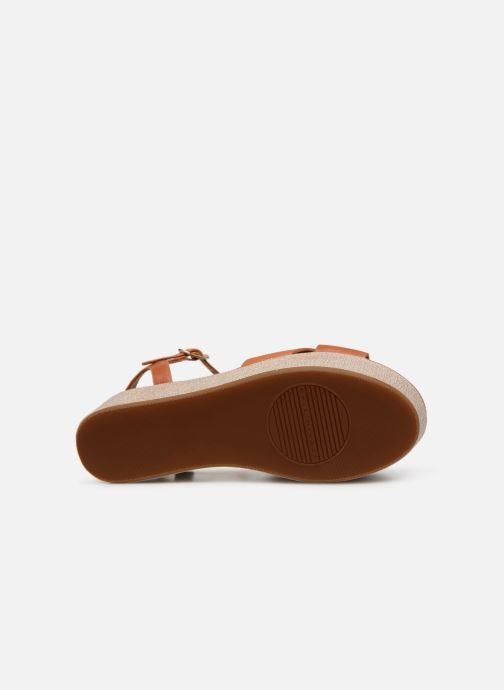 Sandales et nu-pieds Chie Mihara Omero Marron vue haut