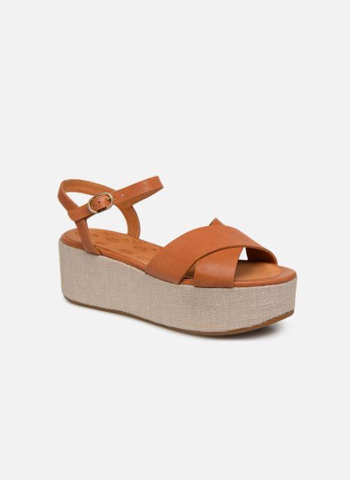 Sandaler Chie Mihara Omero Brun detaljeret billede af skoene
