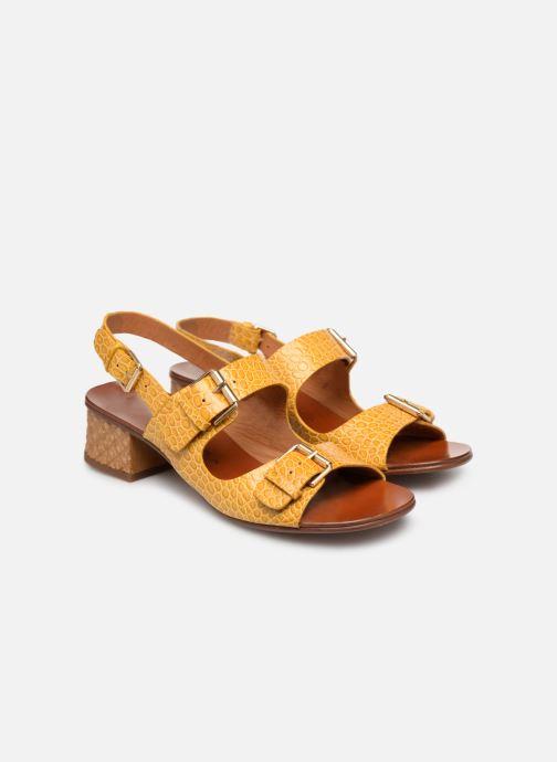Sandales et nu-pieds Chie Mihara Querina Jaune vue 3/4