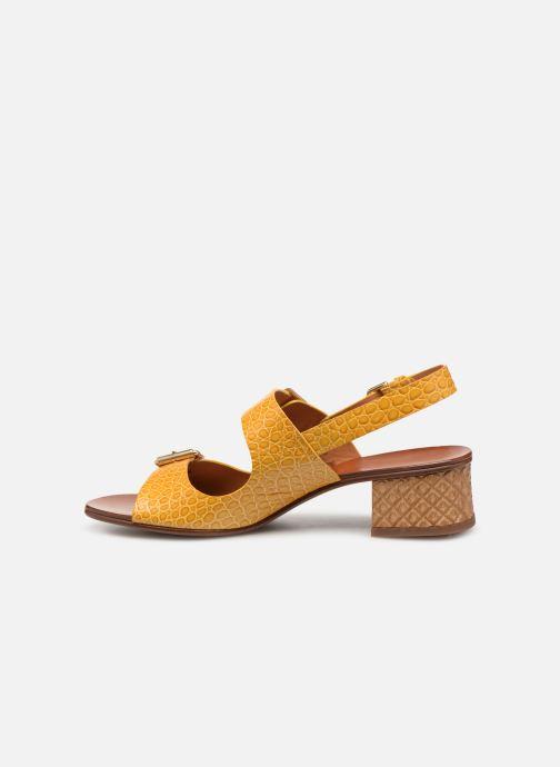 Sandales et nu-pieds Chie Mihara Querina Jaune vue face