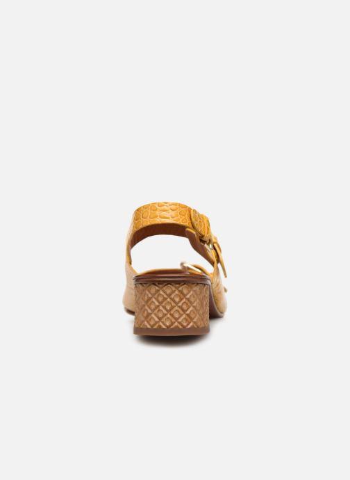 Sandales et nu-pieds Chie Mihara Querina Jaune vue droite