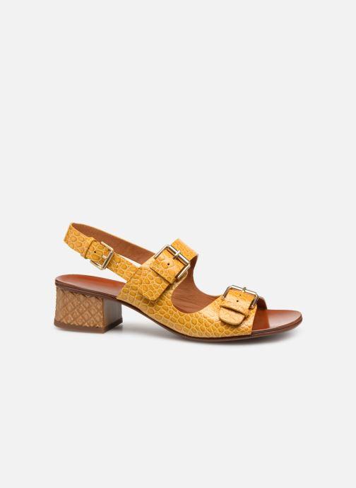 Sandales et nu-pieds Chie Mihara Querina Jaune vue derrière