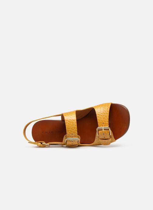 Sandales et nu-pieds Chie Mihara Querina Jaune vue gauche