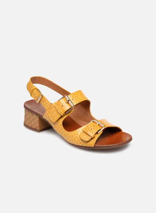 Sandales et nu-pieds Chie Mihara Querina Jaune vue détail/paire