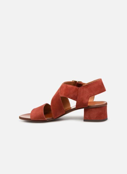 Sandales et nu-pieds Chie Mihara Q-Israel Rouge vue face