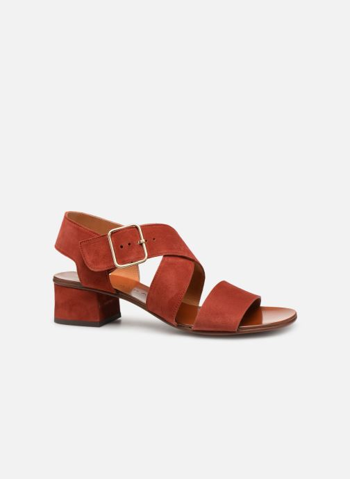 Sandals Chie Mihara Q-Israel Red back view