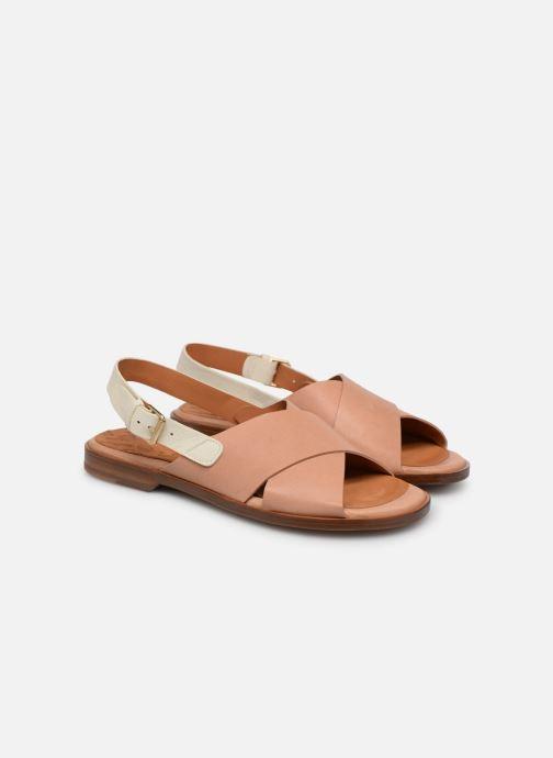 Sandales et nu-pieds Chie Mihara Wan Beige vue 3/4