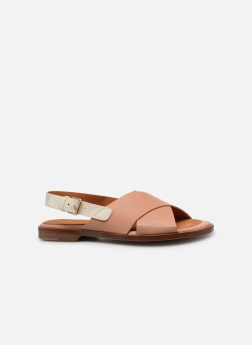 Sandales et nu-pieds Chie Mihara Wan Beige vue derrière